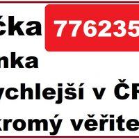 Půjčka snadno a rychle - 776235052